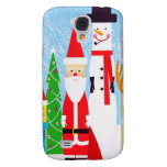 Christmas Figures Galaxy S4 Cover