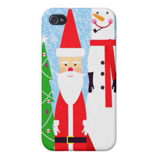 Christmas Figures iPhone 4/4S Case