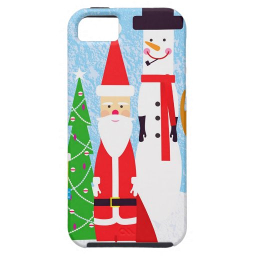 Christmas Figures iPhone SE/5/5s Case