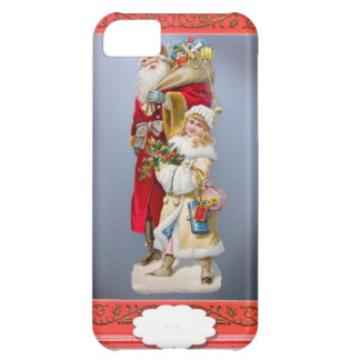 Christmas figurines cover for iPhone 5C