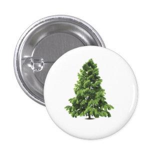 Christmas Fir Tree Button