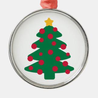 Christmas fir tree christmas ornaments