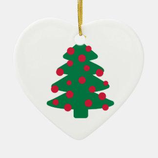 Christmas fir tree ornament