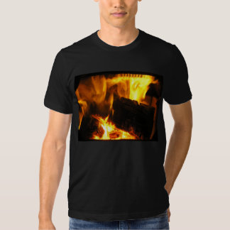 Christmas Fire Photo 2 T Shirt