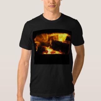 Christmas Fire Photo 2 Tee Shirt