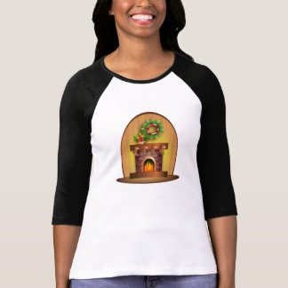 Christmas Fireplace T-Shirt
