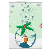 Christmas Fish Greeting Card