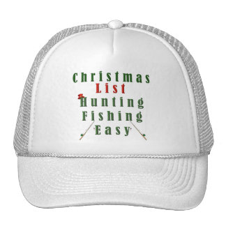 Christmas Fishing Trucker Hat