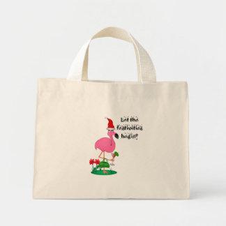 Christmas Flamingo Bag