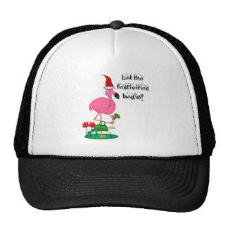 Christmas Flamingo Hat