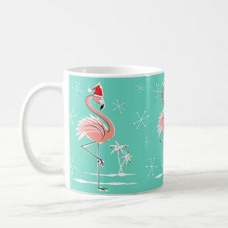Christmas Flamingo mug