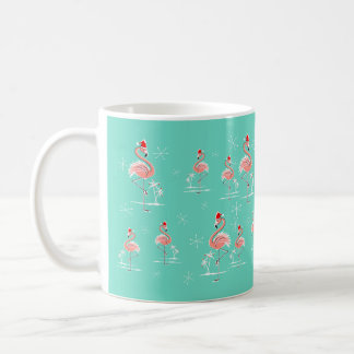 Christmas Flamingo Multi mug