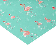 Christmas Flamingo Multi tissue paper