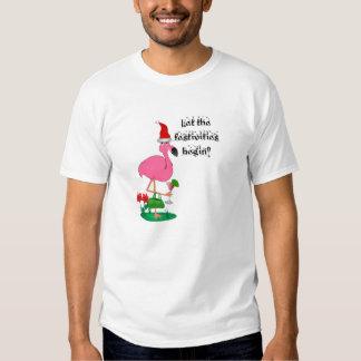 Christmas Flamingo Shirt