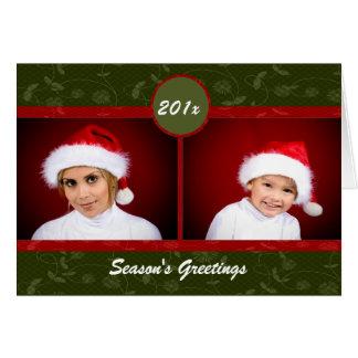 Christmas Floral Card