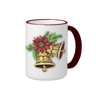 Christmas flower bells Mug