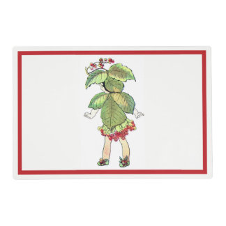 Christmas Flower Fairy Placemat