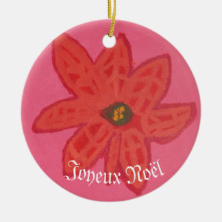 Christmas Flower - Ornament