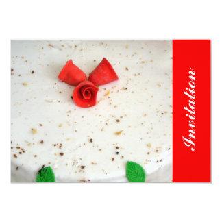Christmas flowerbells invitations