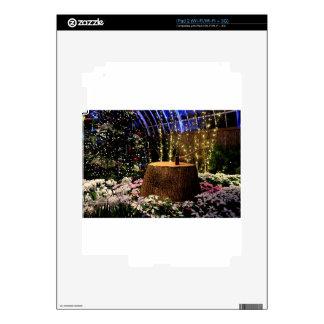 Christmas Flowers Skins For iPad 2