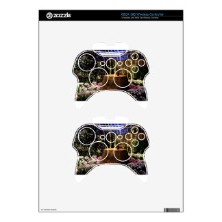 Christmas Flowers Xbox 360 Controller Skins
