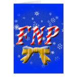 CHRISTMAS FNP - FAMILY NURSE PRACTITIONER CARD