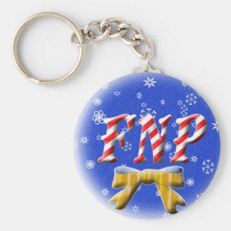CHRISTMAS FNP - FAMILY NURSE PRACTITIONER KEYCHAIN