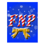 CHRISTMAS FNP - FAMILY NURSE PRACTITIONER POST CARD