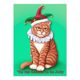 Christmas Fool Card