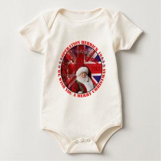 Christmas for operation Herrick 19 Baby Bodysuit