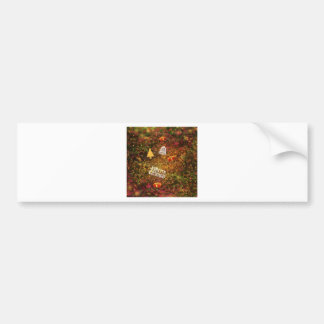 Christmas Forest Bumper Sticker