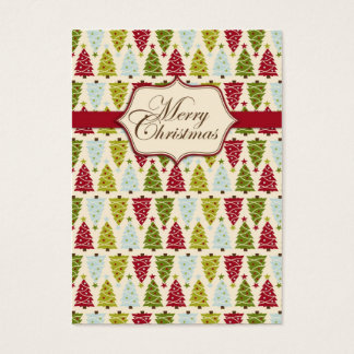 Christmas Forest Gift Tag 2