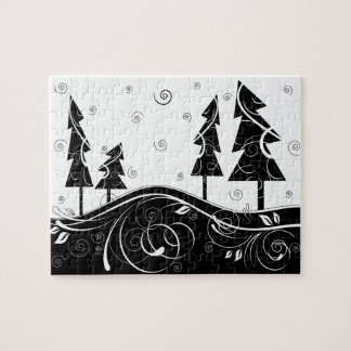Christmas Forest Jigsaw Puzzle