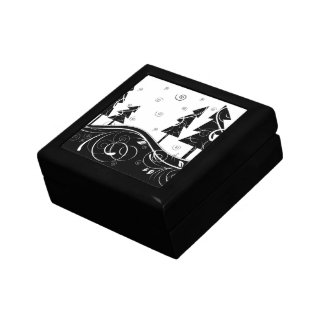 Christmas Forest Keepsake Boxes