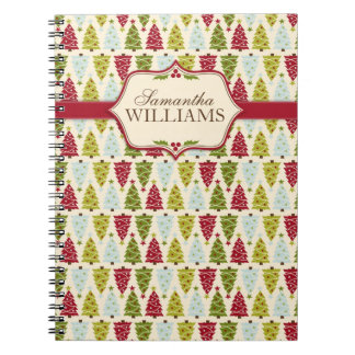 Christmas Forest Notepad Notebook