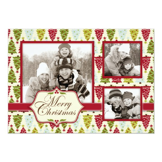 Christmas Forest Photo Card 2