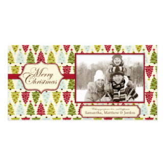 Christmas Forest Photo Card