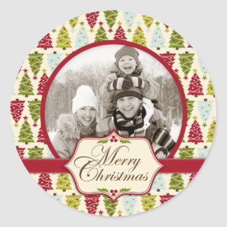 Christmas Forest Photo Sticker 2
