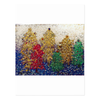 Christmas Forest! Postcard