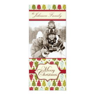 Christmas Forest Tall Card