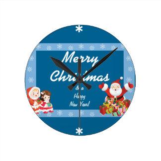 Christmas Frame (add photo) Wallclocks