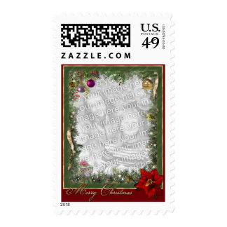 Christmas Frame (customizable) Postage