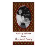 Christmas frame photo card