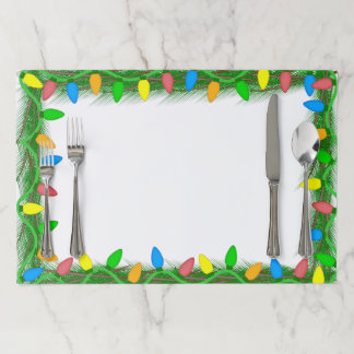 Christmas Framed Tearaway Placemats