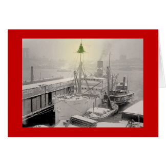 Christmas Freighter Cards