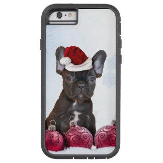 Christmas French Bulldog Tough Xtreme iPhone 6 Case