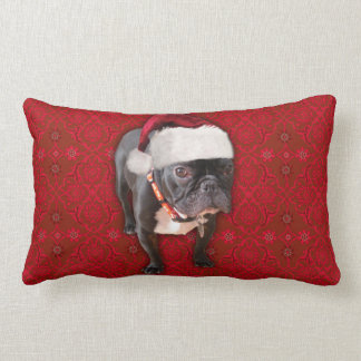 Christmas French Bulldog Pillow