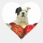 Christmas French Bulldog Sticker