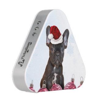 Christmas French Bulloog Speaker