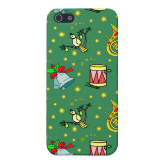 Christmas, French Horns and Magenta Drums iPhone SE/5/5s Cover